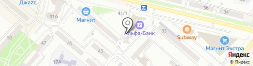 Акрополь на карте Каменска-Уральского