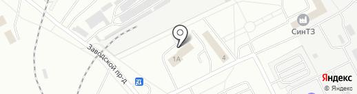 Механо-литейный завод на карте Каменска-Уральского