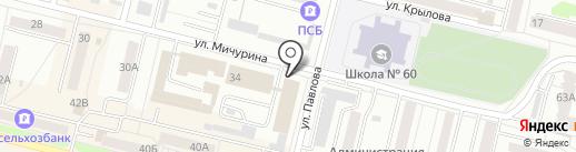 Элегант на карте Каменска-Уральского
