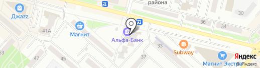 Аптечный пункт на карте Каменска-Уральского