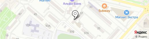 Отдел полиции №24 на карте Каменска-Уральского