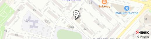 Урал на карте Каменска-Уральского