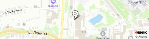 ПАВА, ГК на карте Каменска-Уральского