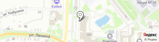 IQ007 на карте Каменска-Уральского