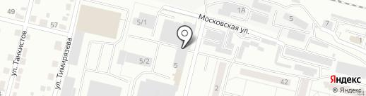 Автотехцентр на карте Каменска-Уральского