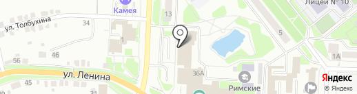 Мастер С на карте Каменска-Уральского