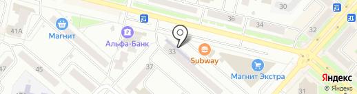 Библиотека им. А.С. Пушкина на карте Каменска-Уральского
