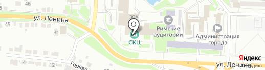 Книга на карте Каменска-Уральского