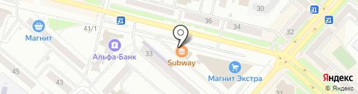 Сушимак на карте Каменска-Уральского