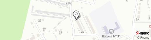 Почтовое отделение №2 на карте Каменска-Уральского