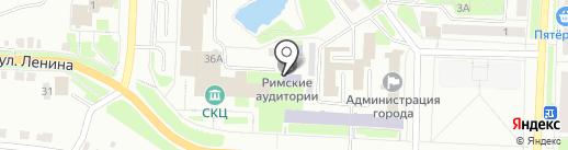 Надежда Урала на карте Каменска-Уральского