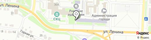 Фитнес-класс Елены Гаккель на карте Каменска-Уральского