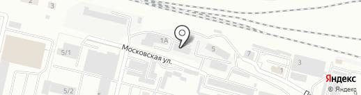 Эксплуатационное локомотивное депо Каменск-Уральский на карте Каменска-Уральского
