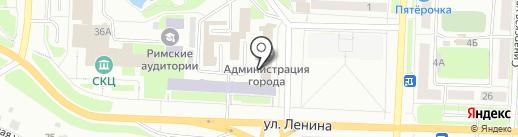Каменск-Уральская общественная организация ветеранов войны, труда, государственной службы на карте Каменска-Уральского