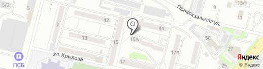 Шахматный клуб на карте Каменска-Уральского