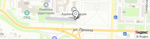 Столовая на карте Каменска-Уральского