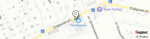 Продукты на карте Каменска-Уральского