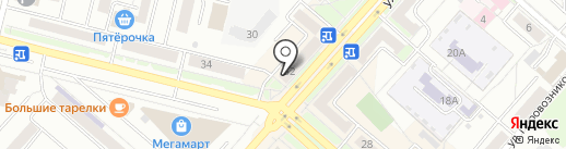 СК Уют-Центр на карте Каменска-Уральского