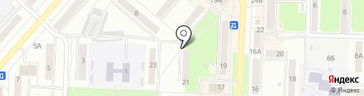 Счетчики на карте Каменска-Уральского