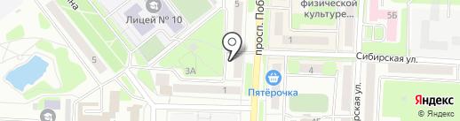 Габбро на карте Каменска-Уральского