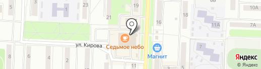 Октябрьский на карте Каменска-Уральского