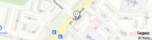 Бриз на карте Каменска-Уральского