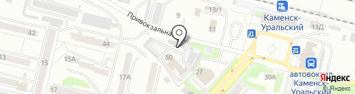 Профмонтаж-т на карте Каменска-Уральского