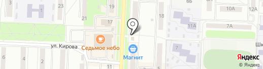 Цветы любимого города на карте Каменска-Уральского
