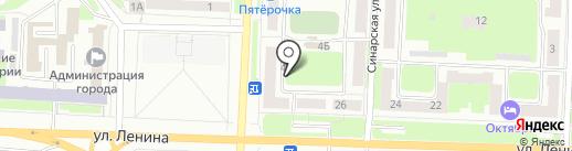 Мемориальный центр на карте Каменска-Уральского