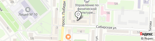 ЦаЦа на карте Каменска-Уральского