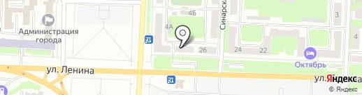МартТ на карте Каменска-Уральского