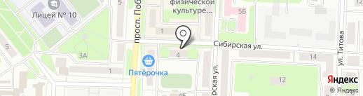 Самобранка на карте Каменска-Уральского