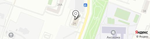 Пожарная часть №307 на карте Каменска-Уральского