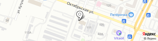 Оливия на карте Каменска-Уральского