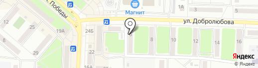 Стройка на карте Каменска-Уральского