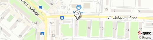 Селена на карте Каменска-Уральского