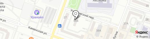 Современная эффективная теплоизоляция на карте Каменска-Уральского
