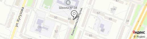 Hollywood на карте Каменска-Уральского