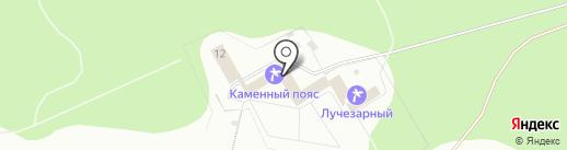Каменный пояс на карте Каменска-Уральского