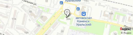 У Ани на карте Каменска-Уральского