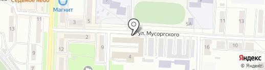 ГАЗЭКС на карте Каменска-Уральского