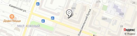 Tissuti на карте Каменска-Уральского