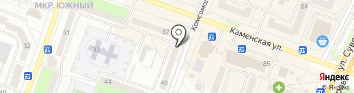 Хозяин-барин на карте Каменска-Уральского