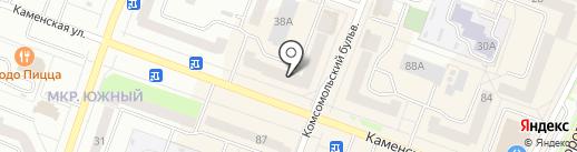 Модняшки на карте Каменска-Уральского