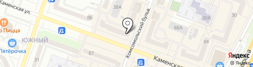 Росс-тур на карте Каменска-Уральского