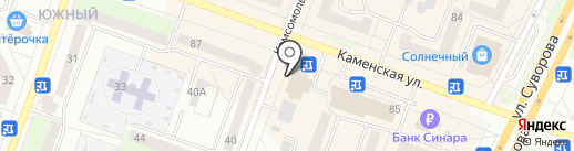 Studio DV на карте Каменска-Уральского