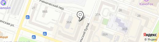 Калина-авто на карте Каменска-Уральского