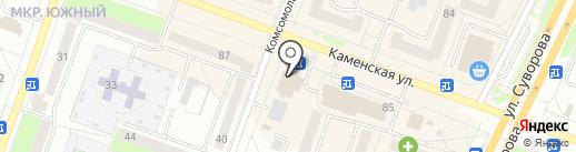 Карнавал на карте Каменска-Уральского