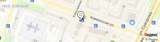 Pole dance & fitness studio Pops на карте Каменска-Уральского