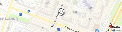Columbia на карте Каменска-Уральского